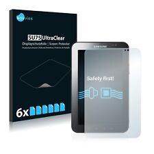 6x Displayschutzfolie für Samsung Galaxy Tab GT-P1000 Klar Schutzfolie