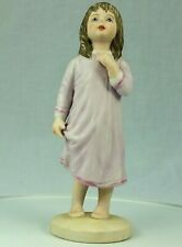 "Frances Hook Figurine ""Kiss Me Goodnight"" 1980 Ceramica Excelsis By Roman"