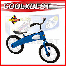"NEW EUROTRIKE GLIDE 12"" KIDS BALANCE BIKE BICYCLE Learn to Ride BLUE 3+"