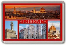 FRIDGE MAGNET - FLORENCE - Large - Italy TOURIST