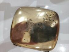Antique Wwi, Iron Cross German Silver Cigarette Case