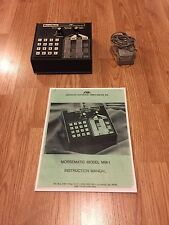 AEA Morsematic CW Auto Keyer & Sender For Ham Radio + Power Wall Wart + Manual