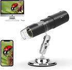 Kolaura Wireless Digital Microscope, Handheld Portable WiFi Magnifier 50X to1000