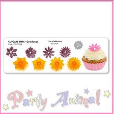JEM - Fantasy Cupcake Tops Set 1 - set of 4 Sugarcraft Cutters Flower Toppers