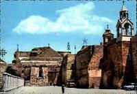 Postcard ~1960 Westjordanland BETHLEHEM Church of Nativity Porstkarte Kirche AK