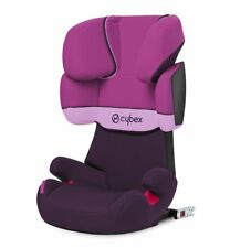 CYBEX Solution X-Fix, Toddler Car Seat Group 2/3, Purple Rain - Purple