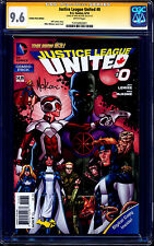 Justice League United #0 COMBO PACK VARIANT CGC SS 9.6 signed Mike McKone NM+