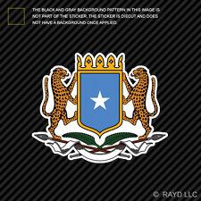 Somali Coat of Arms Sticker Decal Self Adhesive Vinyl Somalia flag SOM SO