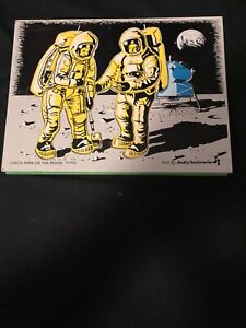 FREE SHIP J506574 DATED 74 WALK ON MOON APP 9X12 IN WOODEN PUZZLE JUDY INSTRUCTO