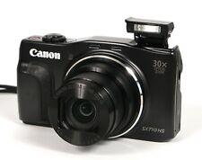 ** NO CHARGER ** Canon PowerShot SX710 HS 20.3MP Digital Camera - Black