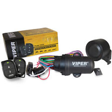 Viper Powersports 2-Remote Security Alarm System for Motorcycle Atv/Utv Boat Pwc