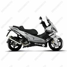 SET 12 ADESIVI CARENA GRAFICA STICKERS GILERA NEXUS 125 250 300 500 BIANCO NERO