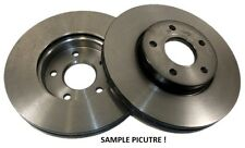 "SET 2 FRONT BRAKE DISCS FITS TOYOTA LANDCRUISER ""120"" 2002-"