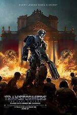 Transformers: The Last Knight Movie Poster (24x36) - Barricade, Hot Rod v4