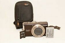 Canon PowerShot SX200 IS 12.1 MP Digital Camera~~Excellent~~Bundle~~08913