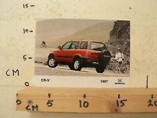 AF082-PHOTO FACTORY ? HONDA CR-V 1997 CAR AUTO