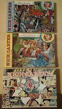 Bonvi NICK CARTER collezione 1 - 2 - 3 g. vincent COMPLETA 1a e 2a I II serie 4