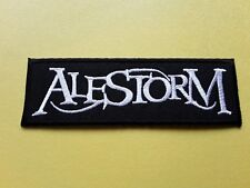Alestorm Patch Embroidered Iron On Or Sew On Badge