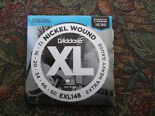 (01) set D Addario extra heavy gauge electric guitar strings12-60 EXL148