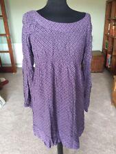 Purple Boho Style LYSGAARD Paysan Robe