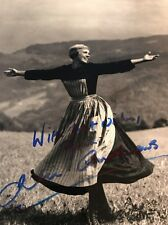 Julie Andrews 8x10 SIGNED PHOTO Autograph GA COA Sound Of Music
