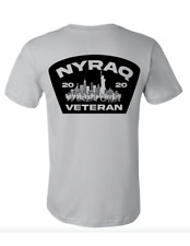 NYRAQ Unisex t-shirt NYC Riots NYPD FDNY 2020 POLICE FIRE