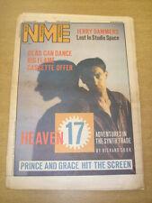 NME 1984 AUGUST 18 HEAVEN 17 PRINCE GRACE JONES LEVEL 42 MARC ALMOND ULTRAVOX