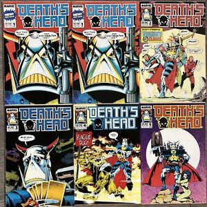 Death's Head #1-5 1 x 2 copies, 2,3,4,5 (1988) 6 Issue Bundle/Lot Marvel