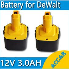 2X Battery For Dewalt 12V 3.0Ah Heavyduty DC9071 DC9072 DE9071 DE9074 DW9071 OZ
