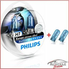 Philips BlueVision Ultra 2x h7 4000k efecto Xenon + 2x w5w bvu 12972 bvusm Duo