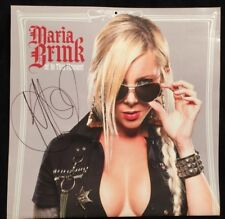 IN THIS MOMENT SIGNED AP CALENDAR AUTOGRAPH POSTER MARIA BRINK MISS WIDOW VIP