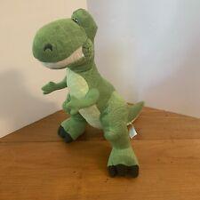 "Disney Pixar Toy Story Rex T Rex Dinosaur Plush 15"" Green Character"