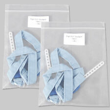 2 Dental Orthodontic Headgear Safety Blue Strap High Pull Strap Small Uiv