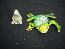Frog Figurines Lot Of 2 (Gently Preowned)