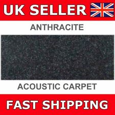 Connects2 CT60-02 Anthracite Acoustic Carpet Speaker Box Carpet 70cm x 135cm