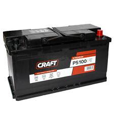 Autobatterie 100Ah Batterie 12V Starterbatterie ersetzt 95ah 100 Ah KFZ Auto PKW