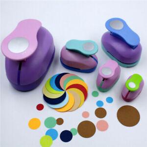 Circle Round Hole Punch DIY Kids Handmade Paper Scrapbooking Cutter Tool 9/16/25
