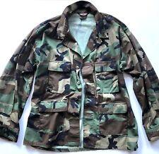 Tru-Spec Mens Camouflage Shirt Jacket BDU Nylon Cotton Ripstop XXL Reg