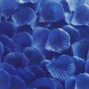 MID BLUE SILK ROSE PETALS FLOWER TABLE DECORATION CONFETTI WEDDING PARTY