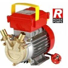 Pompa per travaso Gasolio e acque chiare//bianche//clear water 370W con kit erogaz