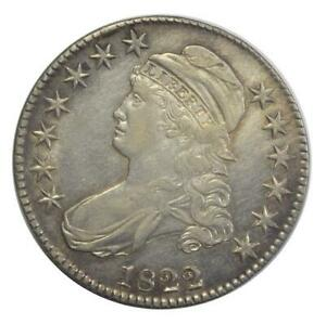 1822 Capped Bust 50 c.(Half Dollar)