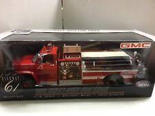 1:16 HIGHWAY 61 GMC RED/WHITE 1975 HEAVY DUTY FIRE TRUCK VERY RARE
