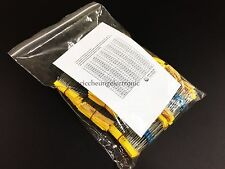 110value 1/2W metal film resistor 1100pcs Assortment Kit 0.1 ohm - 4.7m ohm New
