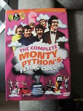 THE COMPLETE MONTY PYTHON'S FLYING CIRCUS 14 DVD SET IN COLLECTOR'S BOX