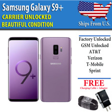 Samsung Galaxy S9 Plus PURPLE - 64GB - UNLOCKED - Verizon AT&T T-Mobile Sprint