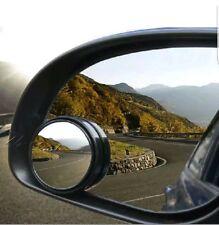 Convex BLIND SPOT MIRROR Towing Reversing Driving SELF ADHESIVE Car Van Bikes X1