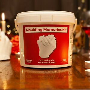 Adult Hand Casting Kit | Alginate Moulding Memories Kit | Aniversary | Keepsake