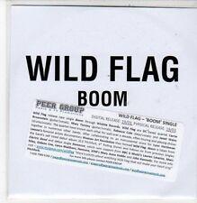 (DC236) Wild Flag, Boom - 2011 DJ CD