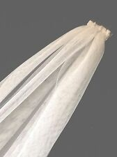 Hens Night  60cm White Soft Tulle Veil For A Bachelorette Or Bride To Be