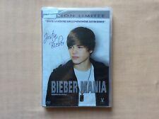 DVD Bieber Mania Justin Édition Limitée biographie DVD VIDEO FILM PAL VF Neuf